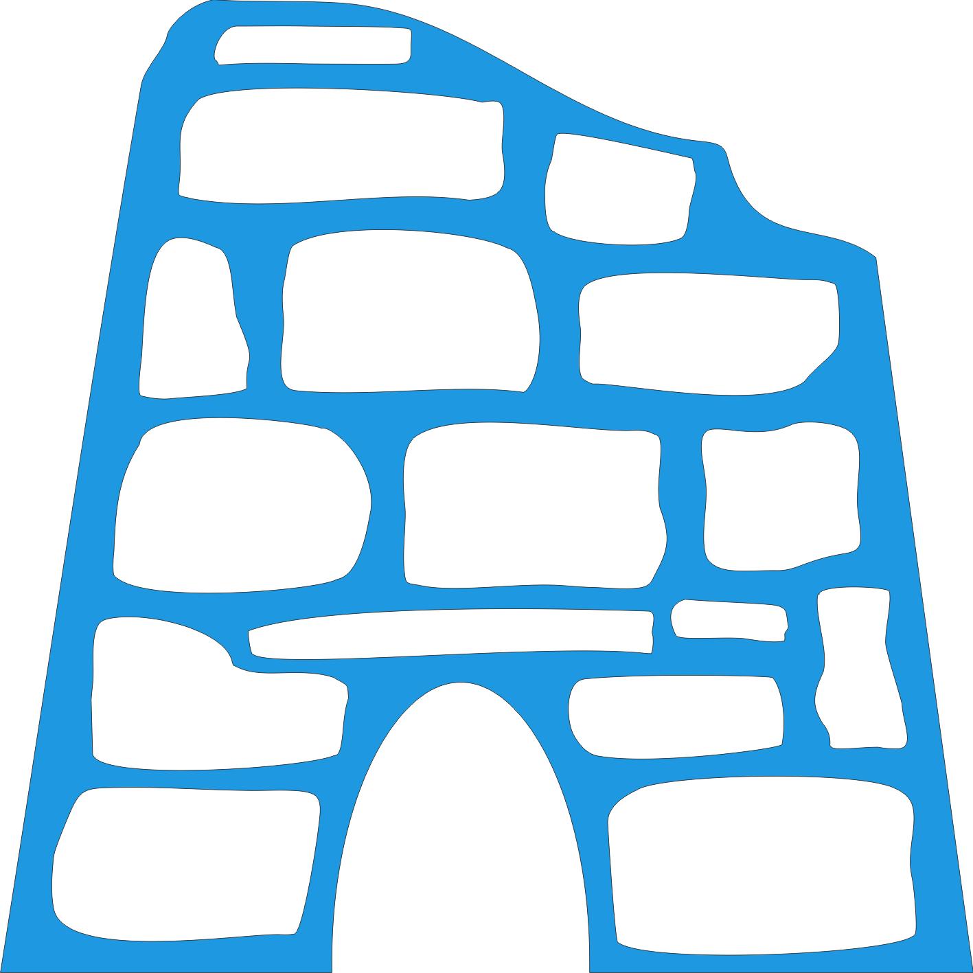 Riproduzione pietra e legno